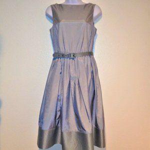 Isaac Mizrahi For Target Silver Dress
